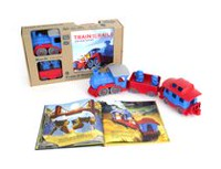 Green Toys Train & Storybook Gift Set