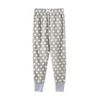 George Girls' Fleece Sleep Pants Grey XL