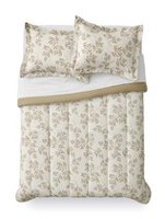 Mainstays Vine Comforter Set Tan Twin