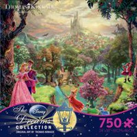 Ceaco - Thomas Kinkade - Disney Dreams Collection: Sleeping Beauty Puzzle (Casse-tête de 750 morceaux)
