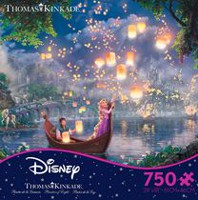 Ceaco - Thomas Kinkade - Disney Dreams Collection: Tangled (Casse-tête de 750 morceaux)