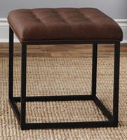 "hometrends 18"" Tufted Ottoman"