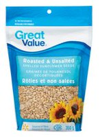Great Value Roasted & Unsalted Shelled Sunflower Seeds