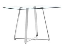 Lemon Drop Dining Table Clear Glass