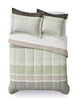 Mainstays Tan Stripe Comforter Set Twin