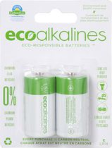 ECO Alkalines™C Cell 2-Pack Alkaline Battery