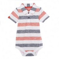 George baby Boys' Polo Bodysuit 3-6 months