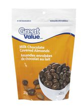 Great Value Milk Chocolate Coated Almonds