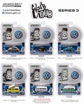 GreenLight Club Vee-Dub 1:64 Scale Die-Cast Vehicles