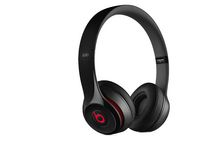 Beats Solo 2 Wired On-Ear Headphones Black