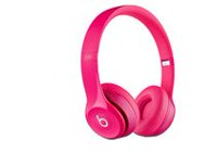 Beats Solo 2 Wired On-Ear Headphones Pink