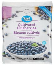 Great Value Frozen Cultivated Blueberries