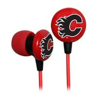 NHL Slap Shot Flames Earphones