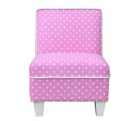 Mainstays Kids Pink Fabric Kids Chair