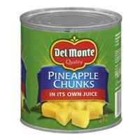 Del Monte® Pineapple Chunks In Juice
