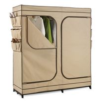 Honey-Can-Do 60-inch Storage Closet with Shoe Organizer