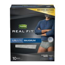 Depend Real Fit Underwear Convenience Pack