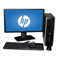 Refurbished HP 8000 SFF with C2D 2.8GHz Processor + 22'' LCD