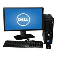 Refurbished Dell 780 DT/SFF with C2D 2.8GHz Processor+ 22'' LCD