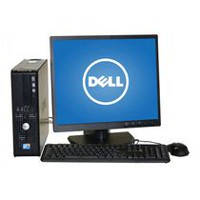 Refurbished Dell 380 DT with Intel C2D 2.8 (E7400) Processor+ 19'' LCD