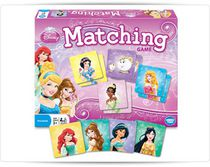 WonderForge - DISNEY MULTI PRINCESS MATCHING GAME