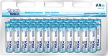 AA Alkaline Battery 48 Pack