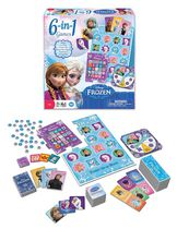 WonderForge 6-in-1 Disney Frozen Game
