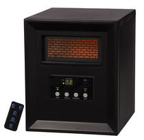 LifeSmart 1000w Lifepro Series Compact Infrared Heater - Medium Room - S-2PC-1000B-CA