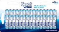 AAA Alkaline Battery 30 Pack