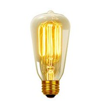 Globe Electric 60W S60 Incandescent Filament Bulb