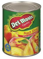 Del Monte® Peach Slices In Light Syrup