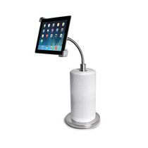 CTA Digital Paper Towel Holder with Gooseneck Stand for iPad & Tablets