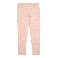 George Girls' French Terry Jeggings Pink M