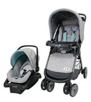 Safety 1st Amble Quad Travel System Tan