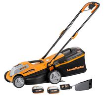 LawnMaster CLMF2413G 24V Max Li-on 14 Inch 2-in-1 Cordless Lawn Mower