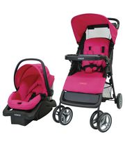 Cosco Juvenile Lift & Stroll Baby Travel System Very Berry