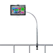 CTA Digital Gooseneck Tube Clamp Mount for iPad and Tablets