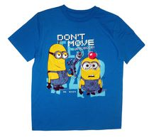 Despicable Me Boy's light up short sleeve crew neck tee 6X