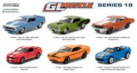 GreenLight Muscle 1:64 Scale Die-Cast Vehicles