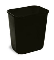 Continental - Waste Receptacle Small 13 quart Black