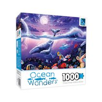Sure-Lox Ocean Wonders Tropic Moonlight 1000 Piece Puzzle