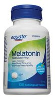 Equate Adults Extra Strength Melatonin, 5 mg