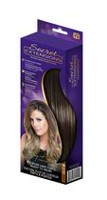 Secret Extensions® Headband Hair Extensions Dark Brown