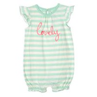 George baby Girls' Graphic Romper 6-12 months
