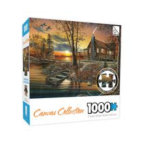 Sure Lox 1000 Piece Canvas Collection As Night Falls Puzzle