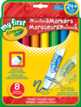 My First 8 Washable Markers