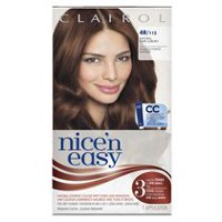 Clairol Nice'n Easy Hair Colour, 1 Kit Dark Auburn