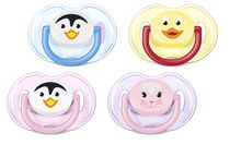 Philips Avent SCF 182/23 BPA Free Classic Pacifiers, 0-6 Months, 2-Pack