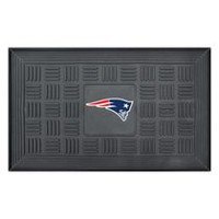 "FanMats NFL New England Patriots 19"" x 31"" Door Mat"