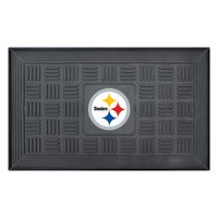 "FanMats NFL Pittsburgh Steelers 19"" x 31"" Door Mat"